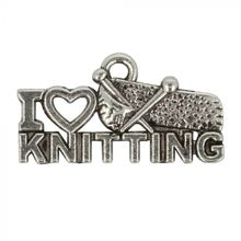 Amuletti I LOVE KNITTING